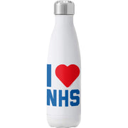 I Heart The NHS Water Bottle-Help Our NHS Heroes
