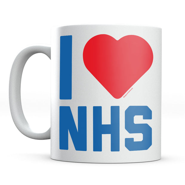 I Heart The NHS Mug-Help Our NHS Heroes