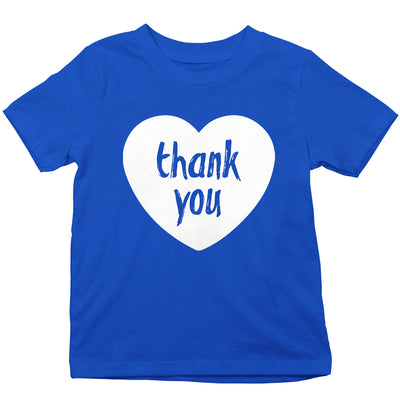 Thank You From Our Hearts Kid's T-Shirt-Help Our NHS Heroes