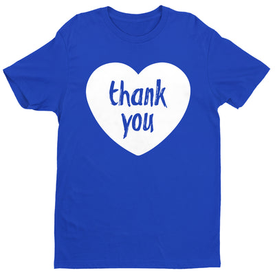 Thank You From Our Hearts Men's T-Shirt-Help Our NHS Heroes