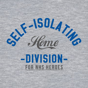 Self Isolating Home Division Adult Hooded Sweatshirt