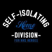 Self Isolating Home Division Kid's T-Shirt