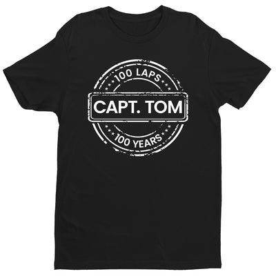 Captain Tom Moore 100 Laps 100 Years Men's T-Shirt-Help Our NHS Heroes