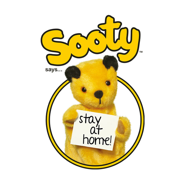 Sooty Says Stay At Home Mug
