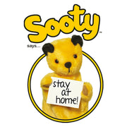 Sooty Says Stay At Home Men's T-Shirt