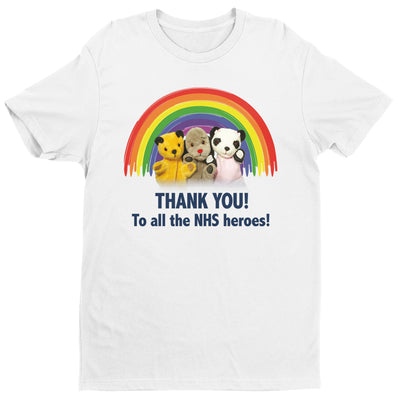 Sooty Thank You To All The NHS Heroes Men's T-Shirt-Help Our NHS Heroes