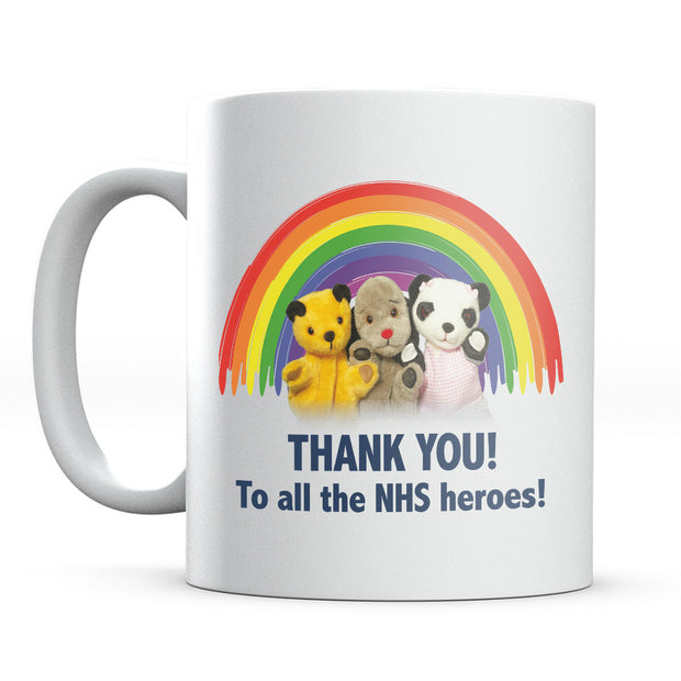 Sooty Thank You To All The NHS Heroes Mug-Help Our NHS Heroes