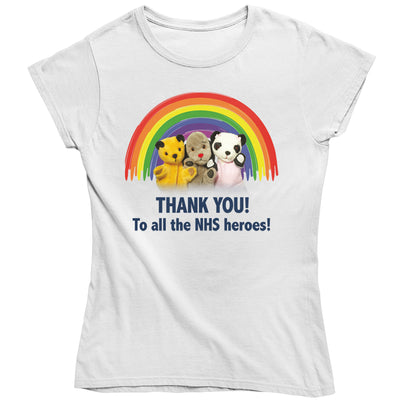 Sooty Thank You To All The NHS Heroes Women's T-Shirt-Help Our NHS Heroes