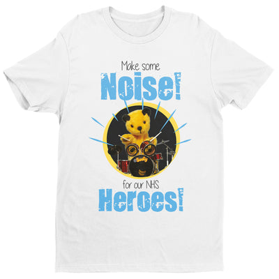 Sooty Make Some Noise For Our NHS Heroes Men's T-Shirt-Help Our NHS Heroes