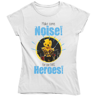 Sooty Make Some Noise For Our NHS Heroes Women's T-Shirt-Help Our NHS Heroes