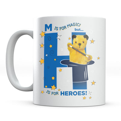 Sooty M Is For Magic But He Is For Heroes Mug-Help Our NHS Heroes