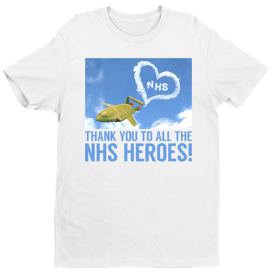 Thunderbirds Thank You NHS Heroes Men's T-Shirt-Help Our NHS Heroes