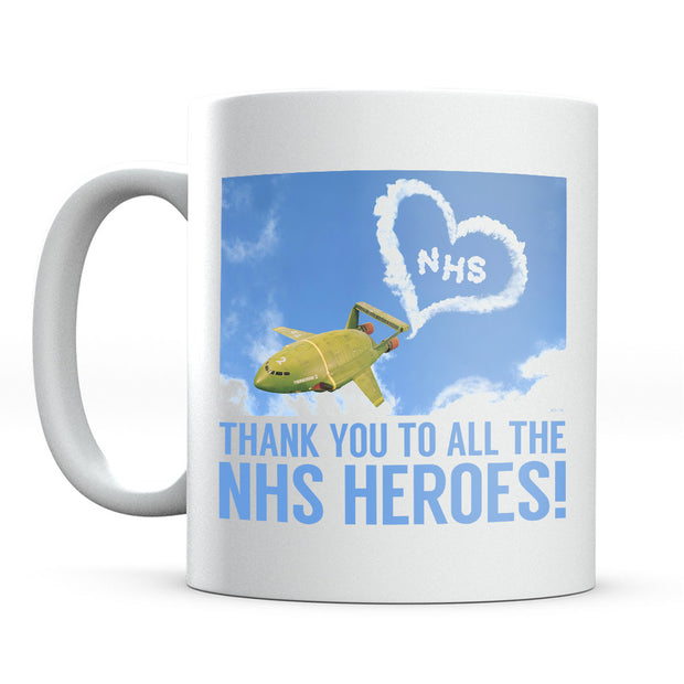 Thunderbirds Thank You NHS Heroes Mug-Help Our NHS Heroes
