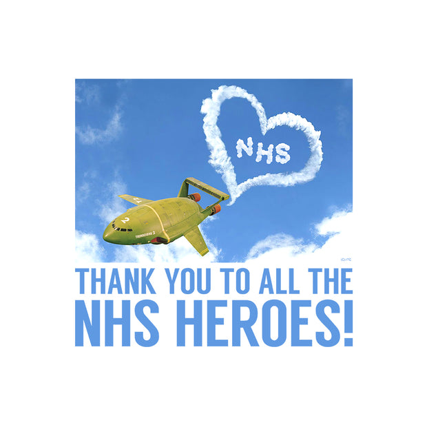 Thunderbirds Thank You NHS Heroes Men's T-Shirt