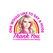 Thunderbirds Lady Penelope Thank You Women's T-Shirt