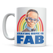 Thunderbirds Brains Staying Home Is Fab Mug-Help Our NHS Heroes
