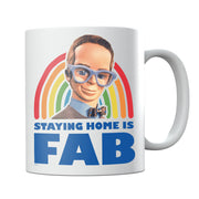 Thunderbirds Brains Staying Home Is Fab Mug