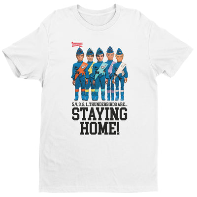 Thunderbirds Crew Are Staying Home Men's T-Shirt-Help Our NHS Heroes