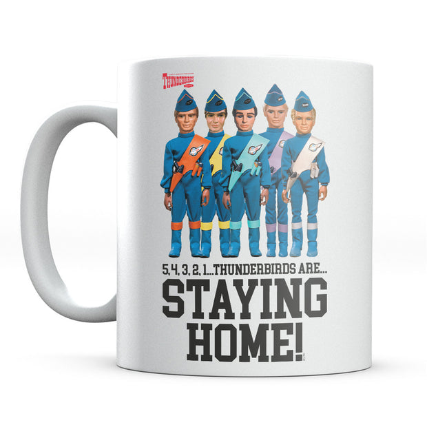 Thunderbirds Crew Are Staying Home Mug-Help Our NHS Heroes