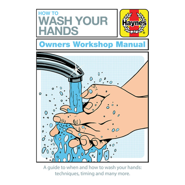Haynes Manual How To Wash Your Hands Kid's T-Shirt