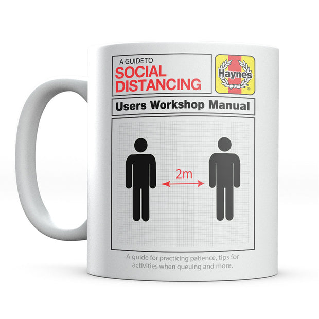 Haynes Manual A Guide To Social Distancing Mug-Help Our NHS Heroes
