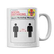 Haynes Manual A Guide To Social Distancing Mug