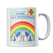 Haynes Manual A Guide To Making Noise For Heroes Mug