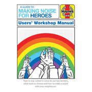 Haynes Manual A Guide To Making Noise For Heroes Men's T-Shirt