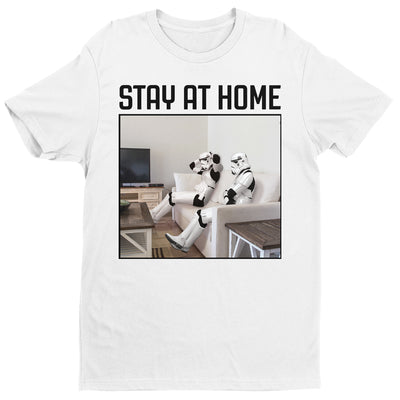 Original Stormtrooper Stay At Home Men's T-Shirt-Help Our NHS Heroes