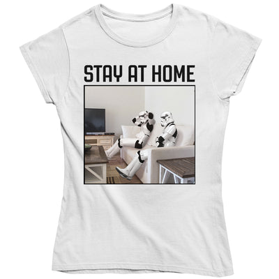 Original Stormtrooper Stay At Home Women's T-Shirt-Help Our NHS Heroes