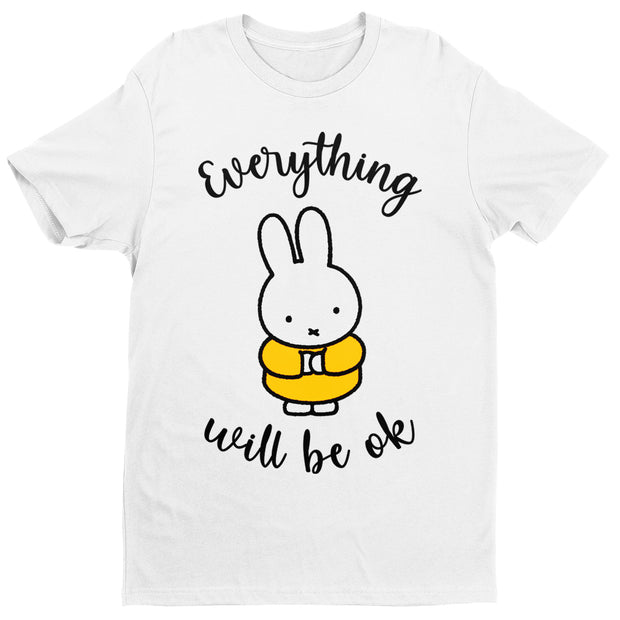 Miffy Eveything Will Be OK Men's T-Shirt-Help Our NHS Heroes