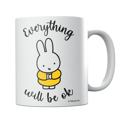 Miffy Eveything Will Be OK Mug-Help Our NHS Heroes