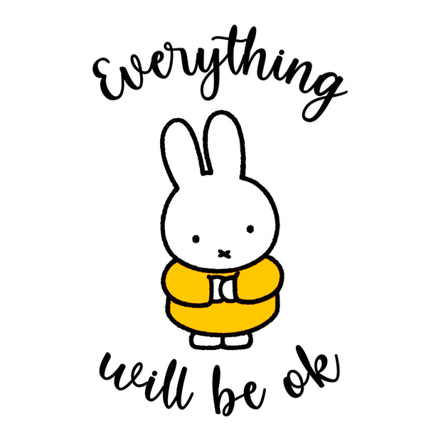 Miffy Eveything Will Be OK Men's T-Shirt