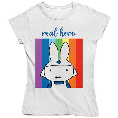 Miffy Real Hero Women's T-Shirt-Help Our NHS Heroes