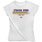 Smiley World Staying Home Since 2020 Women's T-Shirt-Help Our NHS Heroes