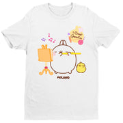 Molang My Sweet Quarantine Men's T-Shirt-Help Our NHS Heroes