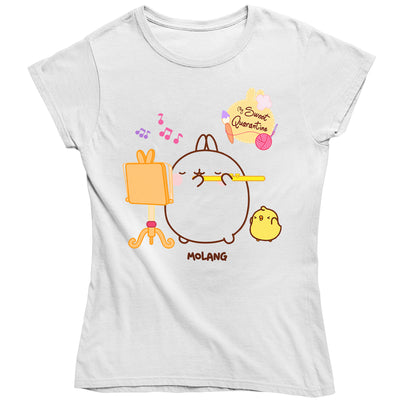 Molang My Sweet Quarantine Women's T-Shirt-Help Our NHS Heroes
