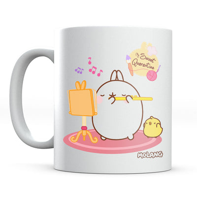 Molang My Sweet Quarantine Pink Carpet Mug-Help Our NHS Heroes