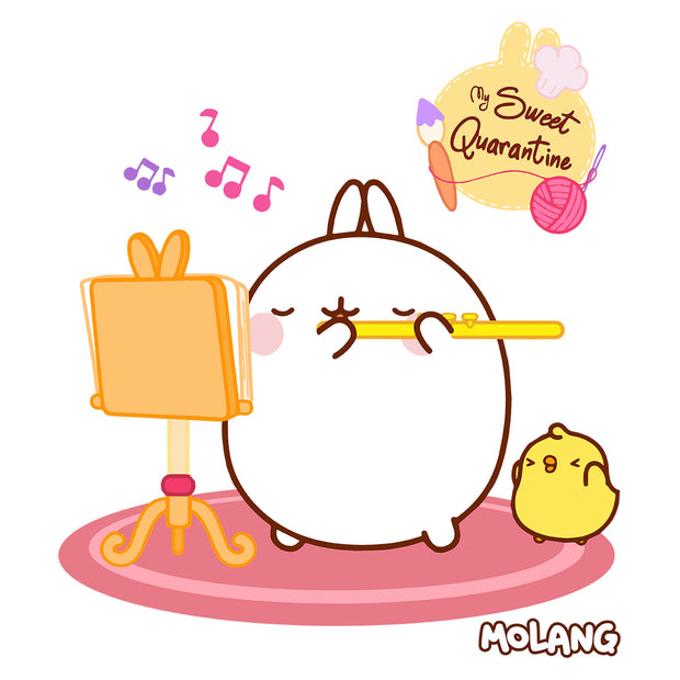 Molang My Sweet Quarantine Pink Carpet Mug