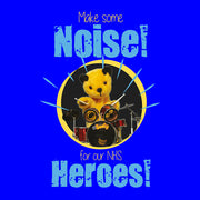 Sooty Make Some Noise For Our NHS Heroes Bib