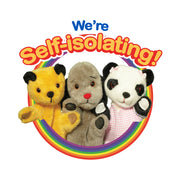 Sooty We Are Self Isolating Bib
