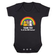 Sooty Thank You To All The NHS Heroes Babygrow-Help Our NHS Heroes