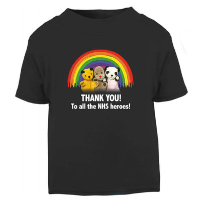 Sooty Thank You To All The NHS Heroes Baby And Toddler T-Shirt-Help Our NHS Heroes