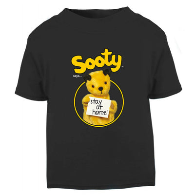Sooty Says Stay At Home Baby And Toddler T-Shirt-Help Our NHS Heroes