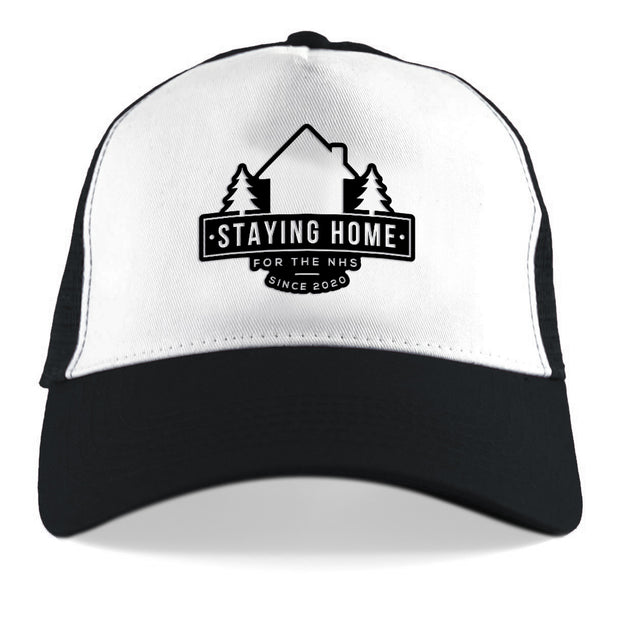 Staying At Home Since 2020 Trucker Cap