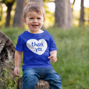 Thank You From Our Hearts Kid's T-Shirt