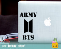 BTS SVG Army Logo Cut File for Silhouette Cricut, KPop SVG, DXF, PNG, BTS