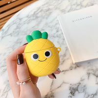 Airpods Case for Apple Airpods 1 and 2 | Pineapple