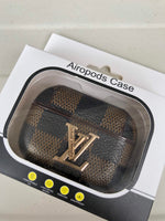 Airpod Pro Case, Luxury Airpod Case for Apple Airpod Pro | Louis Vuitton Damier Ebene Canvas