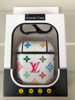 Luxury Airpod Case for Apple Airpod 1 and 2 | Luis Vuitton Monogram Multicolore